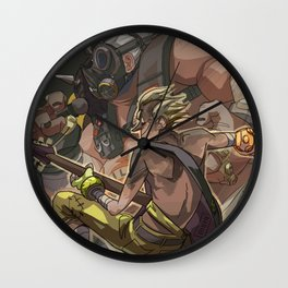 Death Growls and Punching The Guitar Wall Clock
