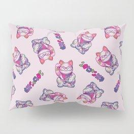 Maneki Neko Cotton Pillow Sham