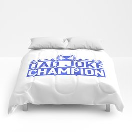 Dad Joke Champion Comforters