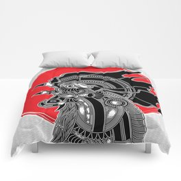 roar from the east Comforters