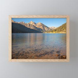 Twin Lake Morning II Framed Mini Art Print