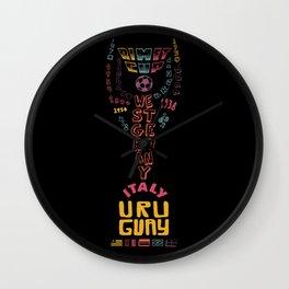 Rimet Cup Wall Clock