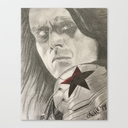 Bucky Barnes the Winter Soldier Canvas Print