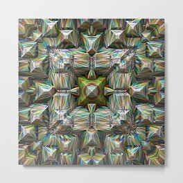 Structural Bands of Color   Metal Print