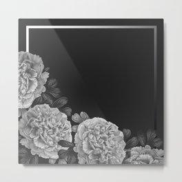 Flowers in the night Metal Print