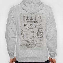 Antique  of gadgets and weaponry of the Mamelucchi army (1808) by Vivant Denon (1747-1825) Hoody
