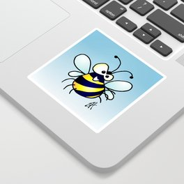 Bumbling Bee Sticker