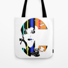 C Is For Cyndi Lauper Tote Bag