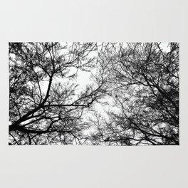 Tree Silhouette Series 7 Rug