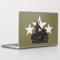 military Laptop & iPad Skins featuring Military Harley by Ernie Young