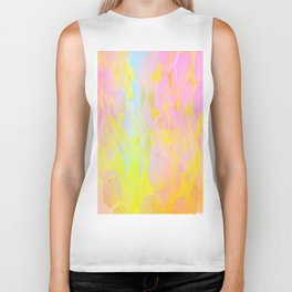 Summer Joy Abstract Biker Tank