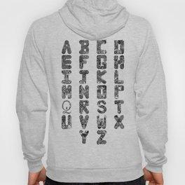 A-Z Alphabet Hoody