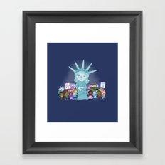 Liberty Framed Art Print