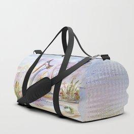 Swan in Love Duffle Bag