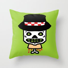 Ska Guy  Throw Pillow