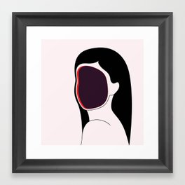 Identity Crisis Framed Art Print