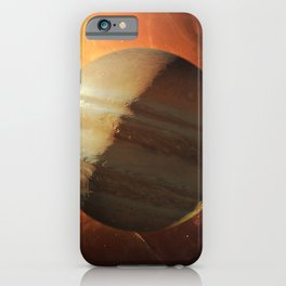 Outer Space Planetary — Jupiter iPhone Case