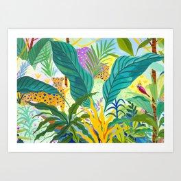 Paradise Jungle Kunstdrucke