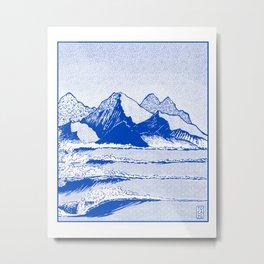 Realers Metal Print