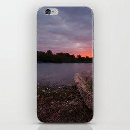 Sunrise Glow At Chasewater iPhone Skin