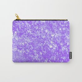 Purple Pastel Texture Carry-All Pouch