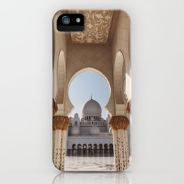 Gold & Grand iPhone Case