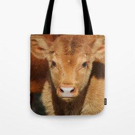 Portrait of a Calf Tote Bag