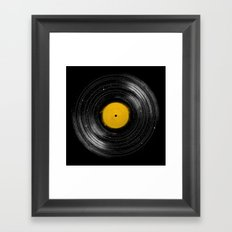 Sound System Framed Art Print