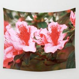 Azaleas blooming Wall Tapestry