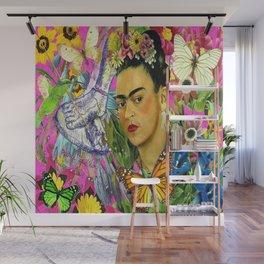 Frida Kahlo Alas Wall Mural