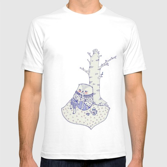 the tree. T-shirt