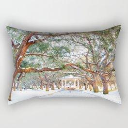 Snow White Point Gardens Rectangular Pillow