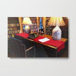 Pearl S Buck Library Metal Print