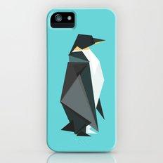 Fractal geometric emperor penguin iPhone (5, 5s) Slim Case