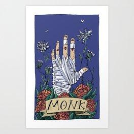 Monk - D&D Art Print