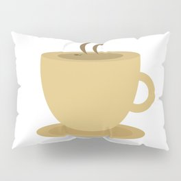 Cup of coffee Pillow Sham
