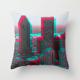 Surreal Montreal 7 Throw Pillow