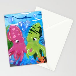 Squid Lovin' Stationery Cards