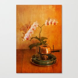 Orchid and Fondue Canvas Print