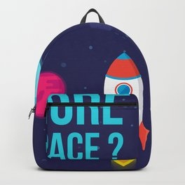 Do you need more Space? Backpack