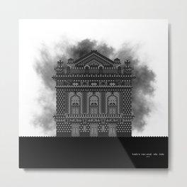 HexArchi - Portugal, Porto, Teatro Nacional São João Metal Print