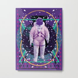 I Am Space Metal Print