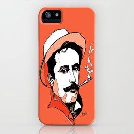 Composer Giacomo Puccini Italian Opera Ballet Madame Butterfly Turandot Tosca La Boheme Italy Art iPhone Case