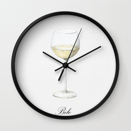 All We Need Is Wine Wall Clock