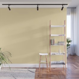 From The Crayon Box - Banana Mania Solid Color - Pastel Yellow Wall Mural