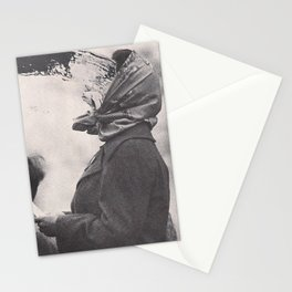 Human Water Fountain Stationery Cards
