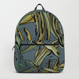 Modern Tropical Plant Design for Nature Lovers Backpack