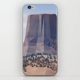 Devils Tower iPhone Skin