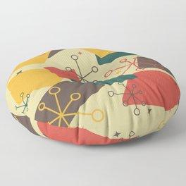 Mid Century Modern Futuro (gold) Floor Pillow