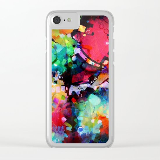 Color Cacophony Clear iPhone Case